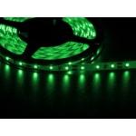 Светодиодная лента 3528  60 LED зеленая 4.0-4.5 Lm/LED IP33