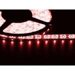 Светодиодная лента 3528  60 LED красная 4.0-4.5 Lm/LED влагозащищена IP65