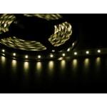 Светодиодная лента 3528  60 LED белая(теплый) 4.0-4.5 Lm/LED IP33