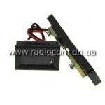Амперметр-вольтметр цифровой DC0-100V/ 50A красного свечения