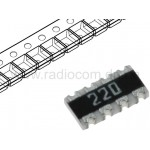 Резисторная сборка smd 1206 22 Ohm 4шт. CAT16-220J4LF