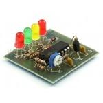Радиоконструктор K126 (светодиодный индикатор уровня напряжения)