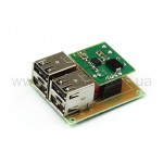 Радиоконструктор Автомобильный модуль питания USB M247