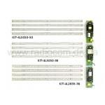 Комплект модернизации растрового светильника KIT-4L5050-50