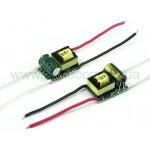 LED драйвер A01 ~220V безкорпусной  3x1W-300mA