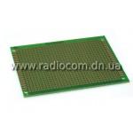 Макетная плата PM 7x 9FR4 односторонняя толщина 1.6мм с маской(OSP)