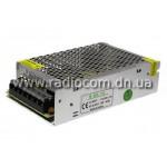 Блок питания 12V  80W 6.5A в металлическом IP20 корпусе R80-12