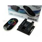 Контроллер для RGB ленты GTB c сенсорным пультом RF(433MHz)